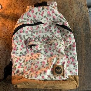 Floral Roxy Backpack